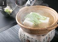 人気の湯豆腐